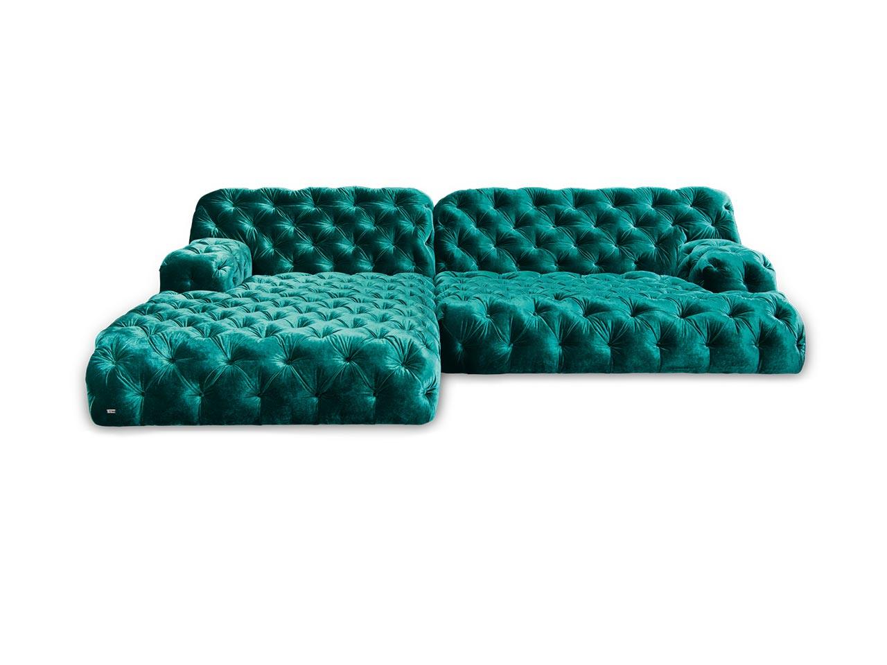 bretz sofa cocoa island smaragd bretz. Black Bedroom Furniture Sets. Home Design Ideas