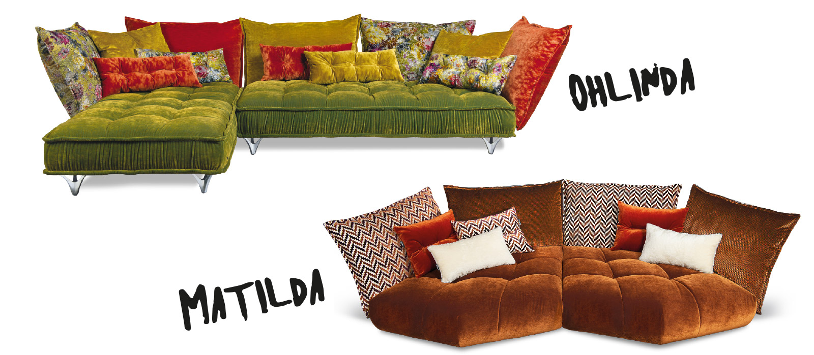 Mailand Flair Sofas