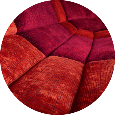 Sofa Myami Detail Stoff