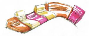 Sofa Myami Skizze