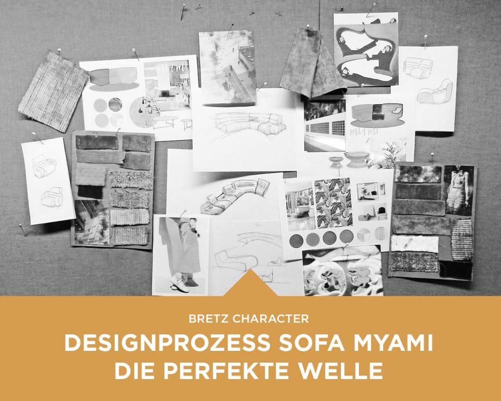 Designprozess Sofa Myami