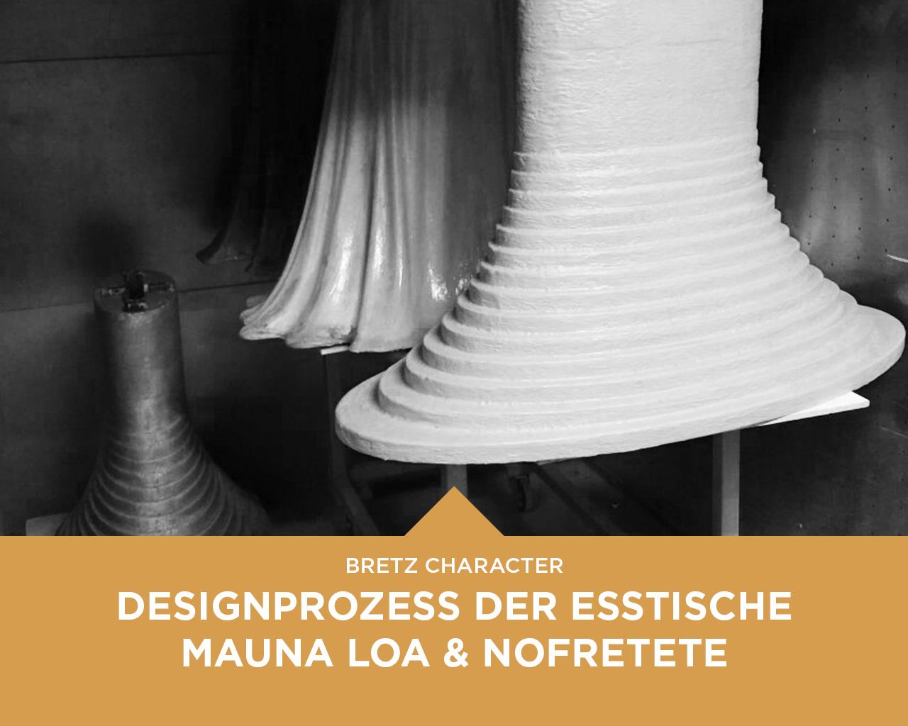 character designprozess der skulpturalen bretz esstische. Black Bedroom Furniture Sets. Home Design Ideas