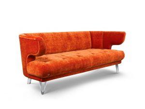 CROISSANT-Bretz-Sofa-Kupfer-Seitenansicht