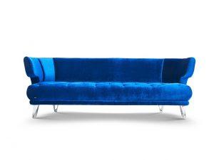 CROISSANT-Bretz-Sofa-Blue Moon-Frontansicht