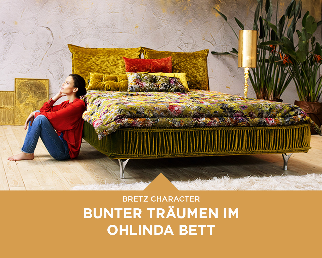 bretz character ohlinda bett bretz. Black Bedroom Furniture Sets. Home Design Ideas