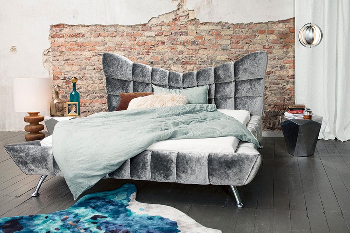 cloud 7 bett frontalansicht bretz. Black Bedroom Furniture Sets. Home Design Ideas