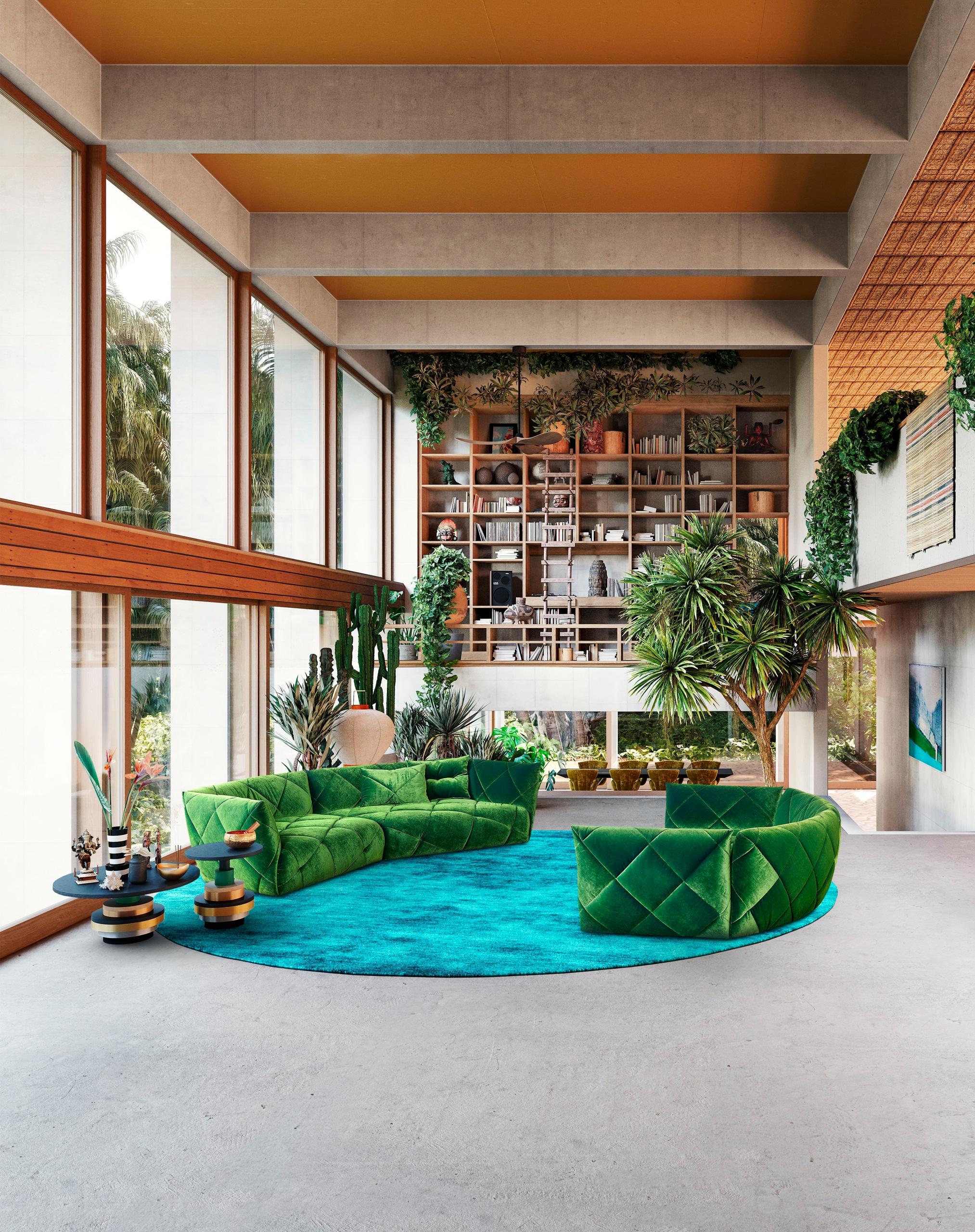 Grün Trendfarbe 2021